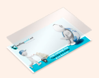 carte DL pelliculage brillant